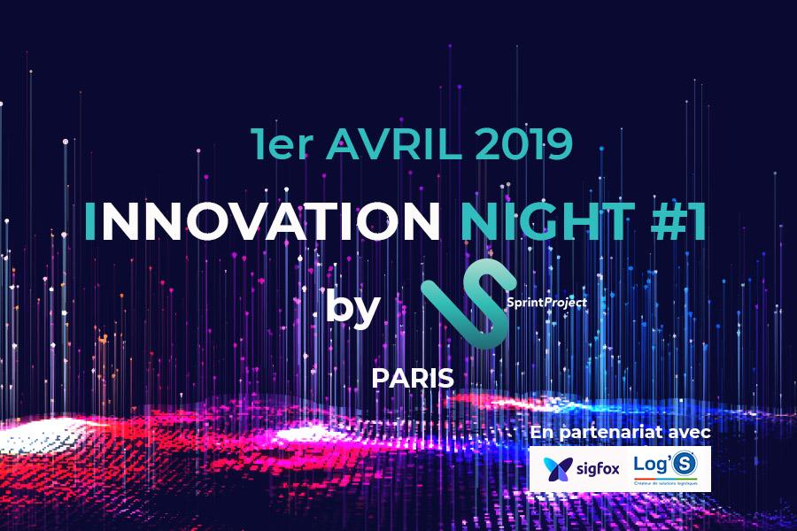 Visuel Innovation Night 2019 by SprintProject