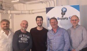 equipe radio supply chain et sprintproject